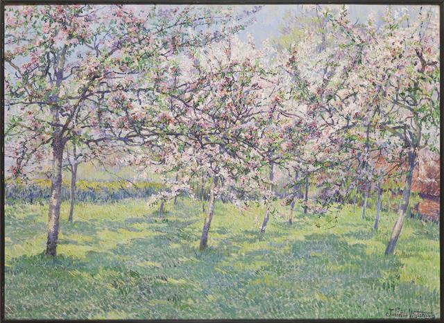 , 'Cerisiers en fleur,' 1929, Musée d'Ixelles