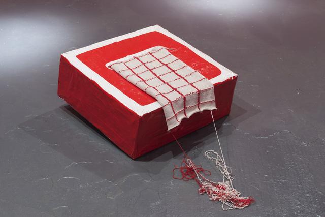 , 'Red Box,' 2015, LAMB Arts