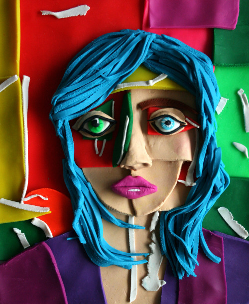 , 'Portrait with Blue Hair, 2013 by Daniel Gordon,' 2015, Atlas Gallery