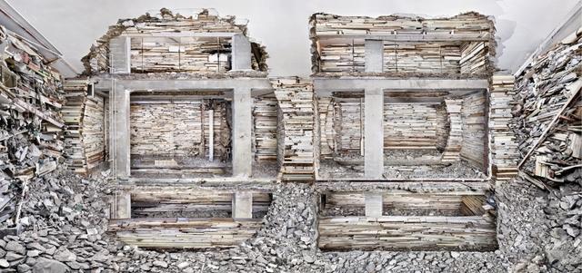 , 'Destroyed House Piet Mondriaanstraat 1,' 2011, Bruce Silverstein Gallery