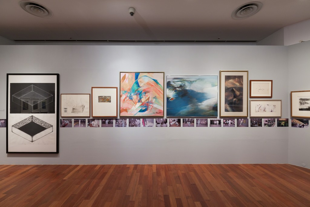 Gallery Impression by Geraldine Kang for NUS Museum