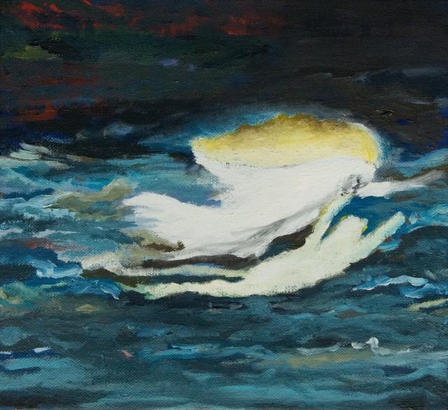 , 'Phantom Schwimmer (engl.: Phantom Swimmer),' 2016, DAS ESSZIMMER