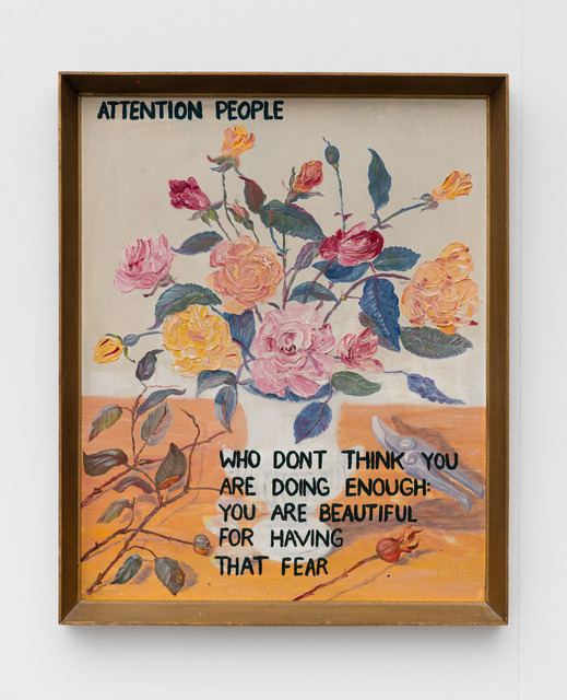 , 'Attention People,' 2016, Rowing