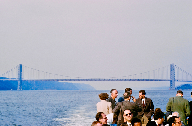 , 'George Washington Bridge ,' 1960, Albumen Gallery