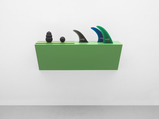 , 'Untitled (dog chew, ball, fins),' 2017, White Cube