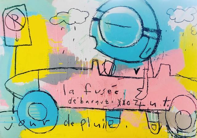 ZUT, 'Jour de pluie', 2018, Artêria