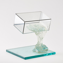Continuum glass sculpture