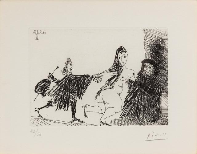 Pablo Picasso, 'La Celestine from Series 347', 1968, Hindman