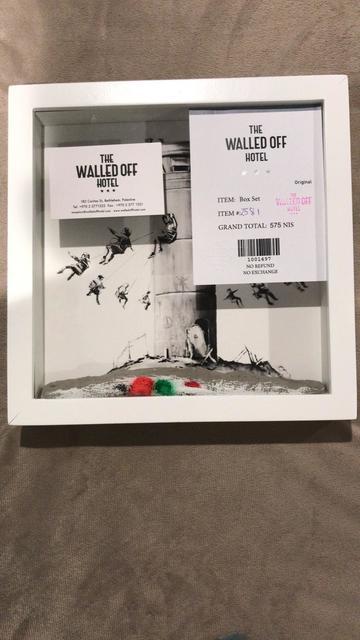 "Banksy, 'BANKSY- WALLED OFF HOTEL ""PALESTINE & BETHLEHAM WALL"" BOX SET', 2017, Arts Limited"