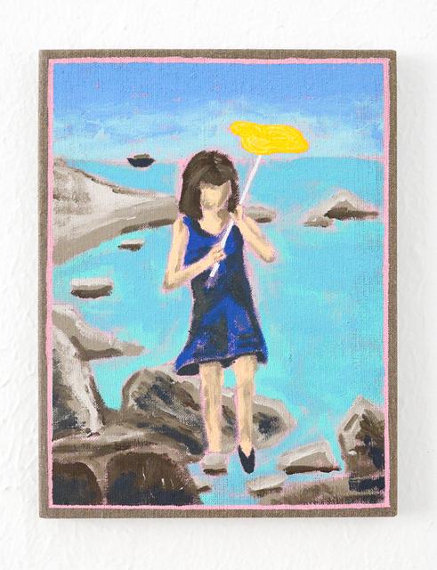 , 'Anna in the Blue Dress,' 2016, Galleri Urbane