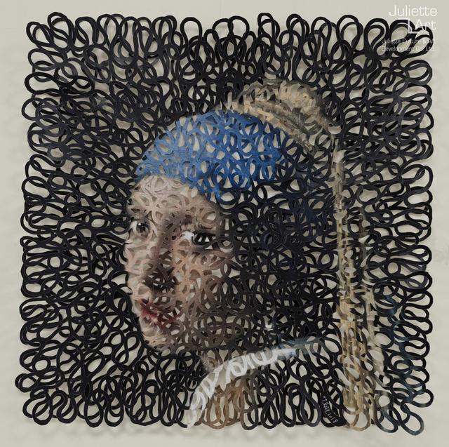 Ye Dongsheng, 'Vermeer: Girl with a pearl earring《戴珍珠耳环的少女》', 2019, Juliette Culture and Art Development Co. Ltd.