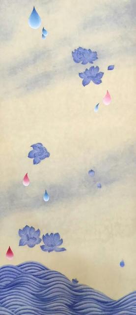 Kate Oh, '꽃비3 (Rain Drop 3)', 2016, Kate Oh Gallery