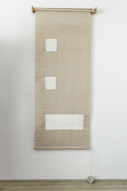 , 'Blind (Roleta),' 1982, Dawid Radziszewski