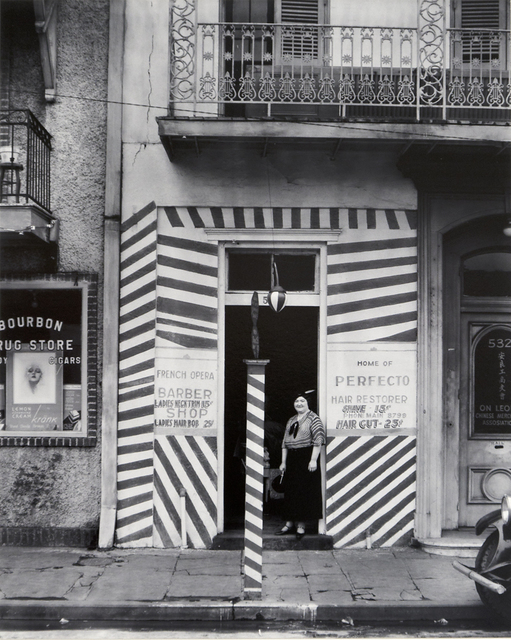 , 'Barber Shop New Orleans,' 1936, Richard Moore Photographs