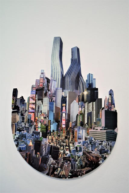 , 'FUTURE CITY 9 – NEWTON'S TOWN ,' 2013, VILTIN Gallery