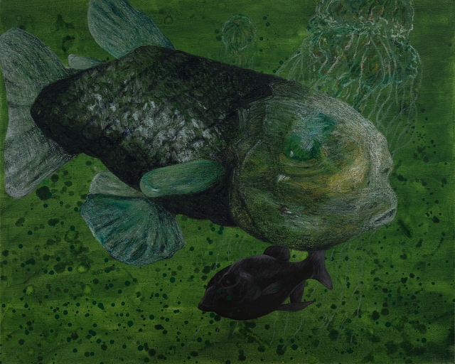 , 'Wanderers of the Abyssal Darkness.Pacific Barreleye Fish S1706,' 2017, Tina Keng Gallery