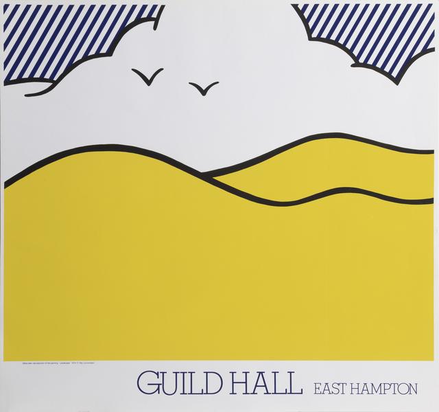 Roy Lichtenstein, 'Landscape, Guild Hall, East Hampton', 1980, RoGallery