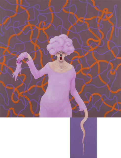 Michael Kvium, 'Pink Clown', 2018, Tang Contemporary Art
