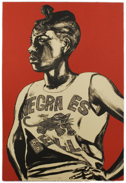 , 'Negra es Bella,' 2014, Tamarind Institute