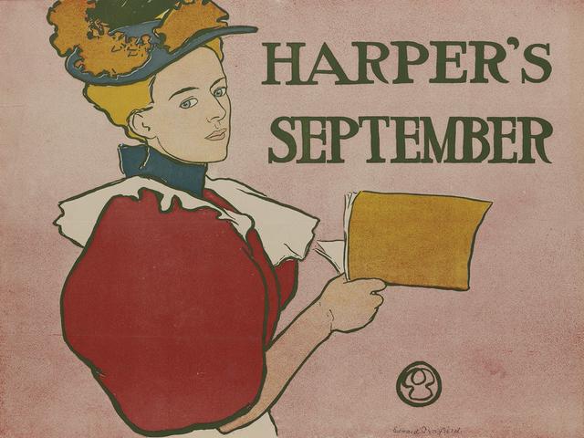 , 'Harper's September,' 1896, Omnibus Gallery