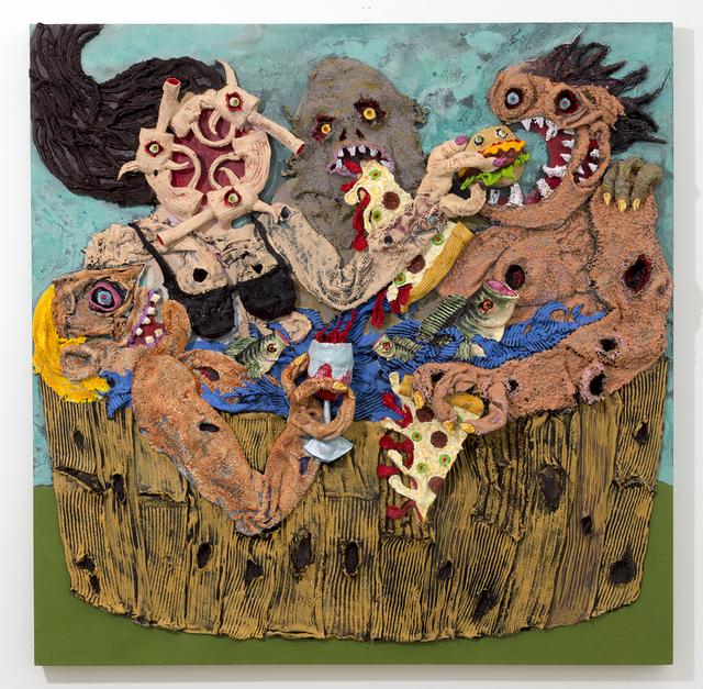 , 'Hot Tubbin',' 2017, Joshua Liner Gallery