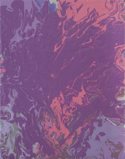 , 'violetpink pour,' 2015, Heather Gaudio Fine Art