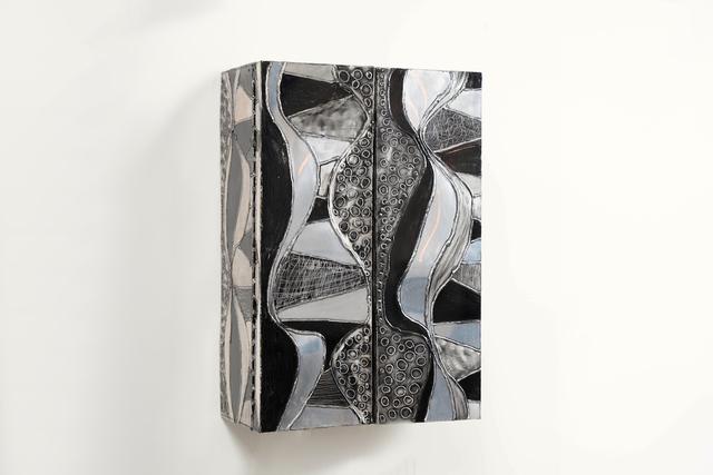 Paul Evans (1931-1987), 'Paul Evans, Argente Wall Cabinet, USA', 1967, Design/Decorative Art, Aluminum, Wood, Todd Merrill Studio