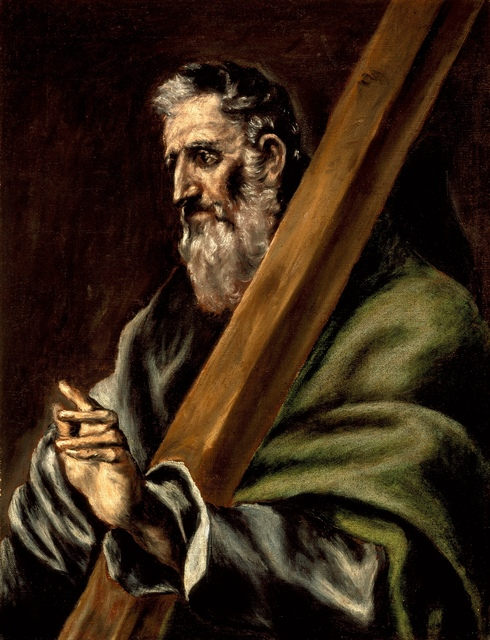 El Greco, 'The Apostle St. Andrew', ca. 1600, Los Angeles County Museum of Art