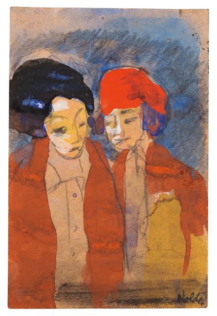 , 'Bildnis von zwei Frauen,' ca. 1940, Ludorff