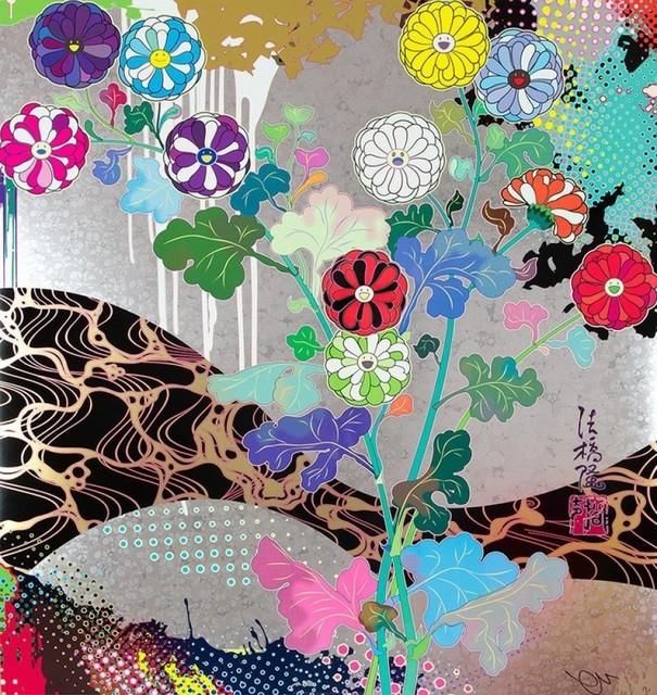 Takashi Murakami, 'Korin: Pure White', 2015, Lougher Contemporary