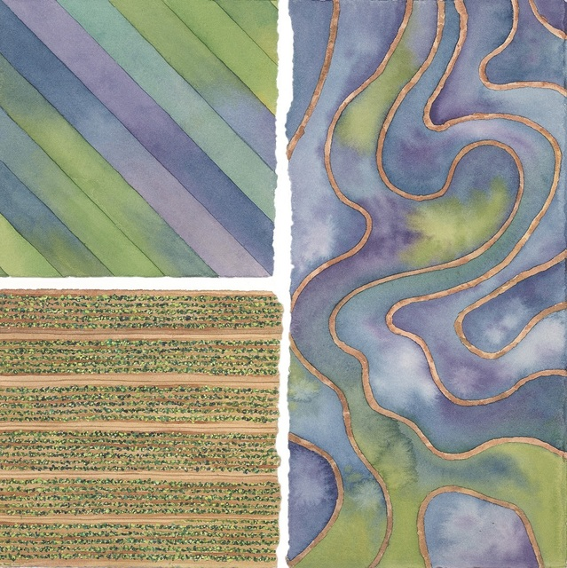 Elaine Bowers, 'Earth Quilt 4', Sparrow Gallery