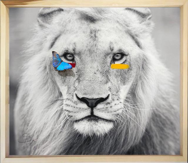 SN, 'Humanimal Lion ', 2019, Eden Fine Art