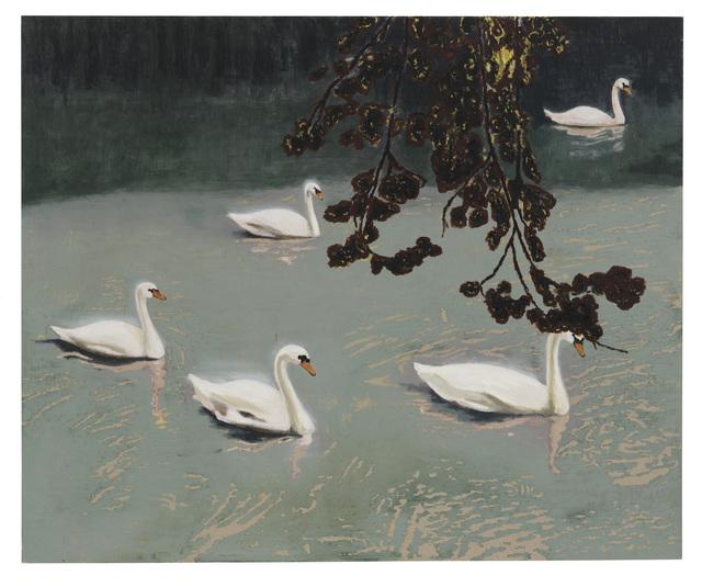 , 'Svandamm / Swan Pond,' 2016, Galleri Magnus Karlsson