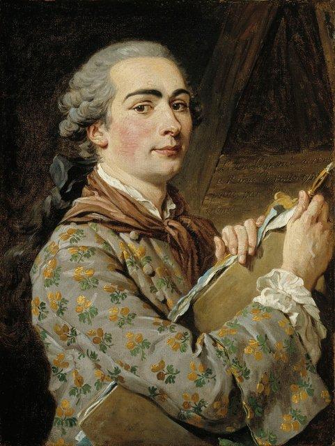 , 'Autoportrait (Self-portrait),' 1750-1759, Château de Fontainebleau