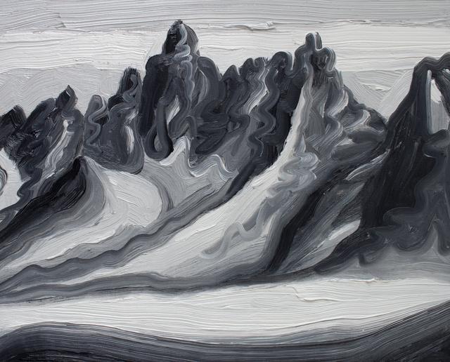 , 'Mountain Sketch 3,' 2017, Peter Robertson Gallery