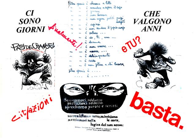 , 'Cit-azioni,' 1975-2017, Galleria Michela Rizzo