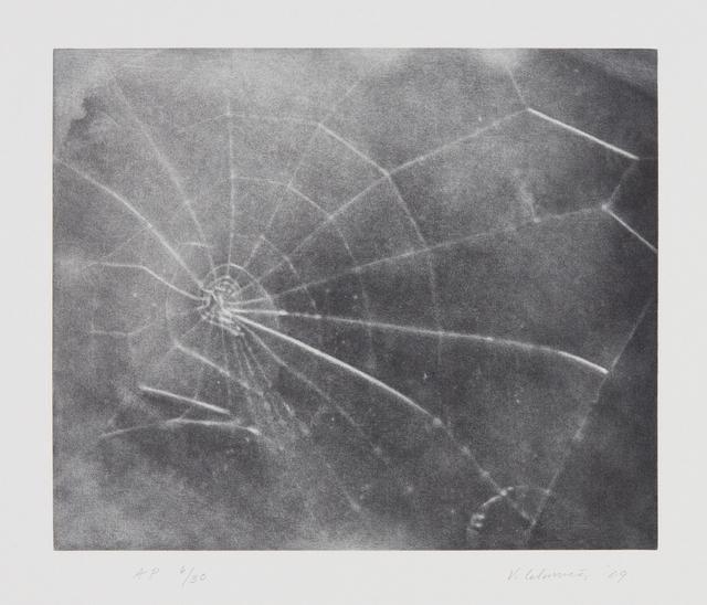 Vija Celmins, 'Untitled (Web #5)', 2009, Phillips