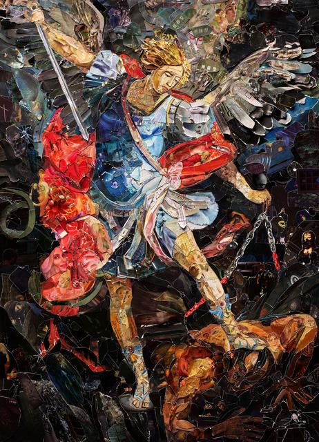 , 'Repro (Saints): Archangel Micahel after Dorko Topalski,' 2018, Galeria Nara Roesler