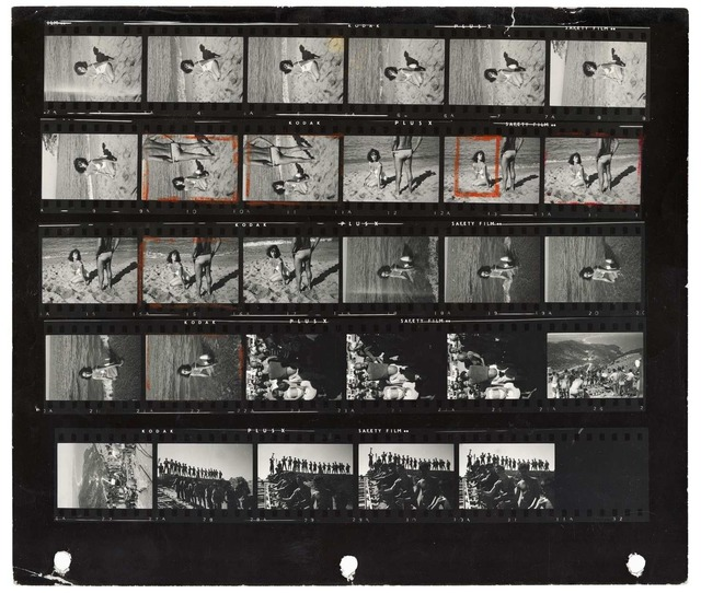 ", 'Elizabeth Taylor on the film set of ""Suddenly Last Summer"",' 1959, Magnum Photos"