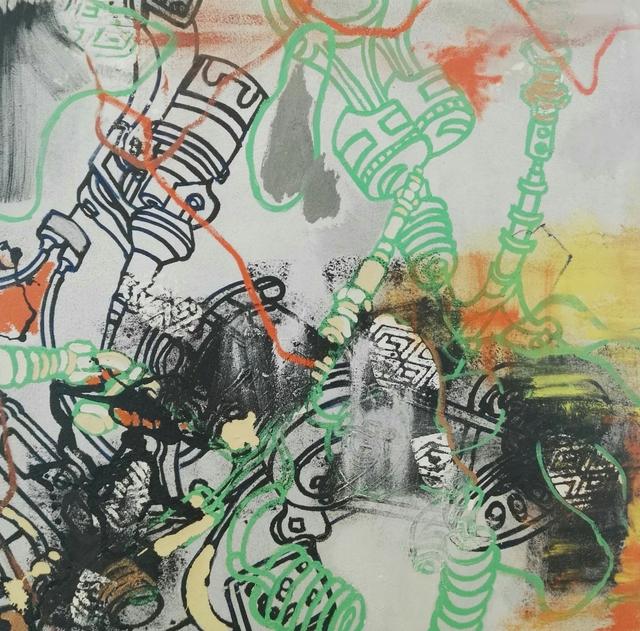 , 'Stepping into the urban maze,' 2017, Artflow Galeria
