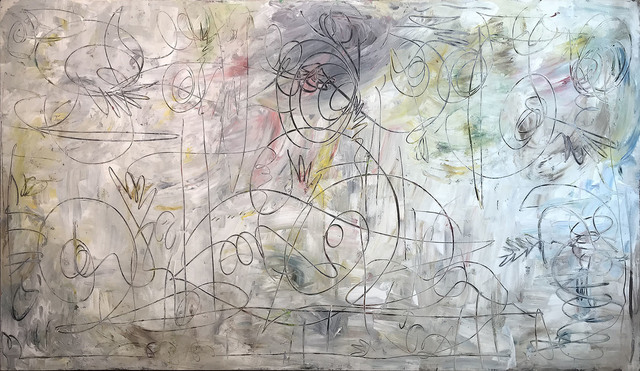 Rudolf Ray, 'untitled', 1965, Painting, Oil on canvas/wood, SUPPAN FINE ARTS