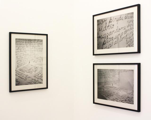 Rosemberg Sandoval, 'Acciones individuales', 1983, Galeria Pilar