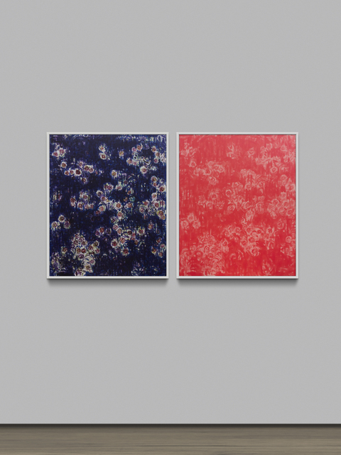 , 'Chou Yu-Cheng, His Professor Yen Ye-Cheng and His Painting,' 2014, Project Fulfill Art Space