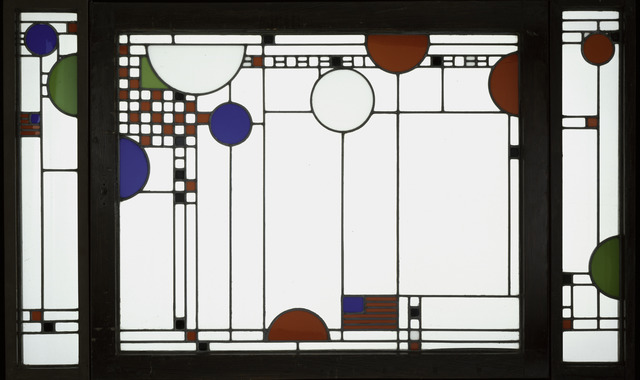Frank Lloyd Wright, 'Avery Coonley Playhouse: Triptych Window', 1912, Art Institute of Chicago