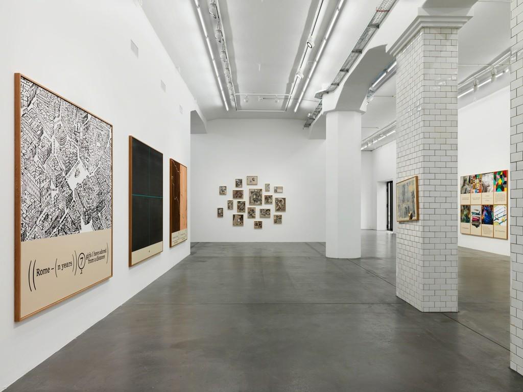 Installation view, 'Keith Tyson. BIG DATA (PAINTINGS 2012 – 2018)', Hauser & Wirth Zürich, 2018