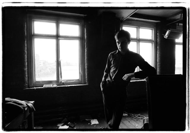 Kevin Cummins, '2. Ian Curtis, Joy Division. TJ Davidson rehearsal room, Little Peter Street, Manchester, 19 August 1979', 2006, Paul Stolper Gallery