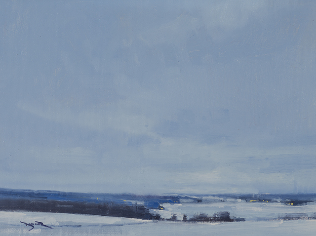 , 'Snow in Mondovi, Study,' 2013, Rehs Contemporary Galleries