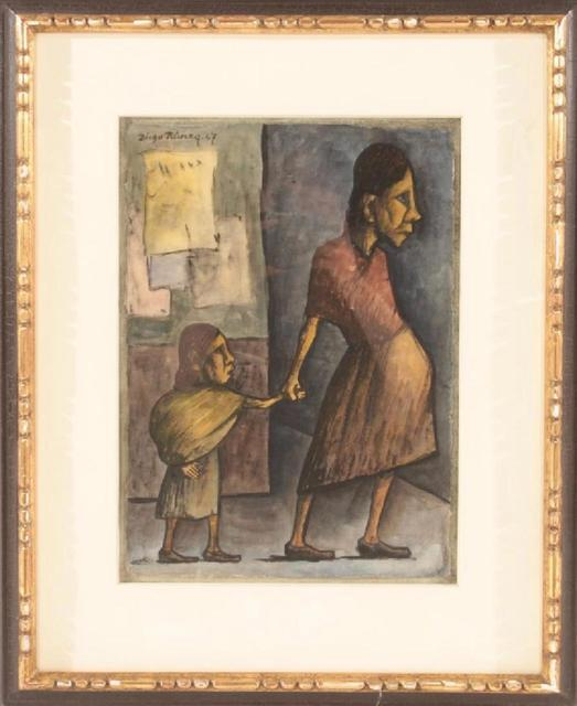 Diego Rivera, 'Mother and child', 1947, Caiman Contemporary