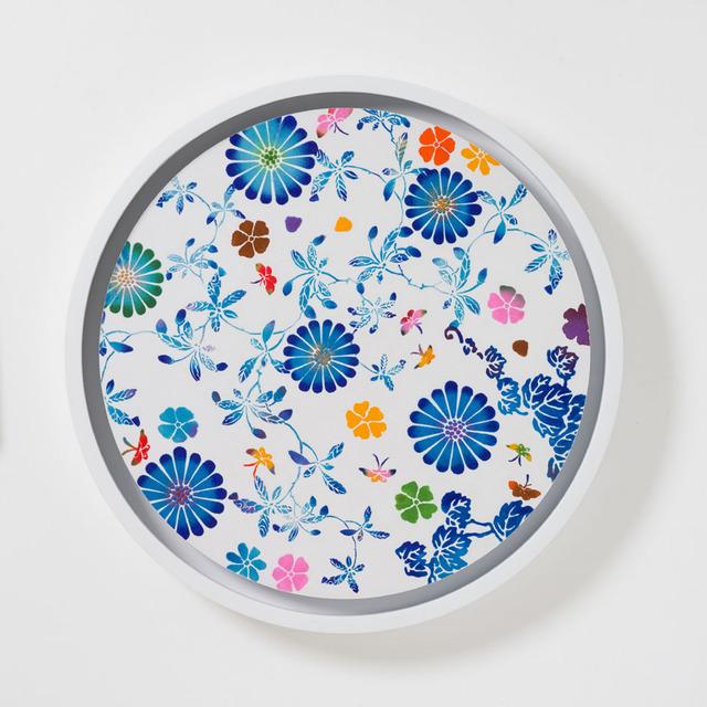 Shinji Ohmaki, 'Echoes - Infinity Taiwan12(blue)', 2013, Art Front Gallery