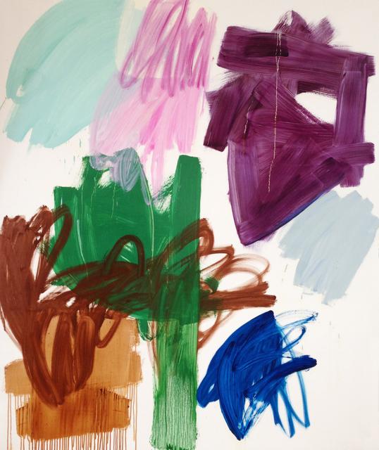, 'Purple Smuge,' 2011, Galerie Brigitte Schenk